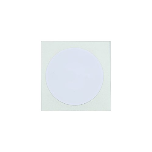 10 White NFC Tag Stickers 25mm (1 inch) Round - 888 Bytes - Import It All