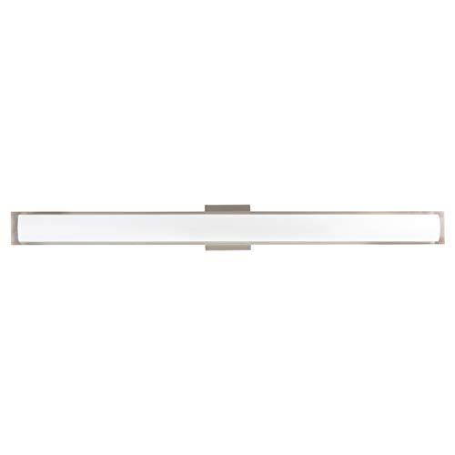 Portico 42 inch Integrated LED Bathroom Vanity Lights | Brushed Nickel Bathroom -