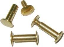 Brass Chicago Screws Binding Screw Post - 5/8