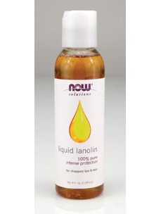 Lanolin Natural (NOW Liquid Lanolin Pure, 4-Ounce (Pack Of 2))