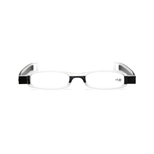 360 Hommes Pliant Unisexe Femmes Eyeglass De Lunettes 1 Babysbreath17 Lecture Pliable degrés Rotation Presbytie fwxARqwC