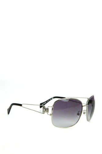 Exté Sonnenbrille EX 73601 Silber mit schwarzen Gläsern ZrCNH9