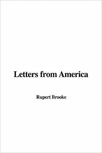 Kirjat voivat ladata ilmaiseksi Letters from America 1414262361 PDF by Rupert Brooke