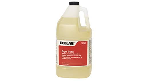 Ecolab Super Trump Dish Detergent, Gallon | 4/Case