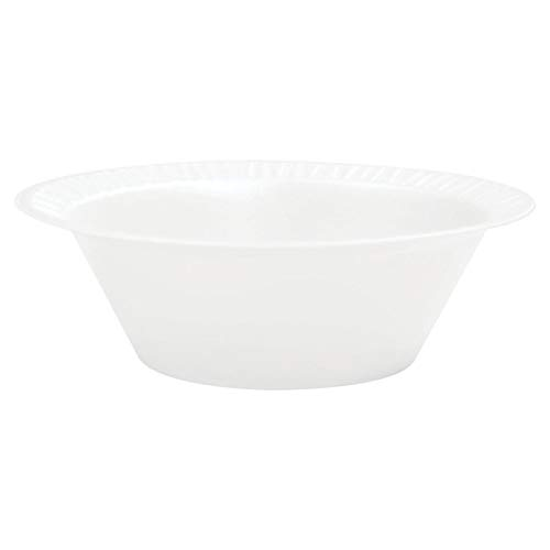 Dart 12BWWCR Concorde Foam Bowl, 10 12oz, White, 125 per Pack (Case of 8 Packs) ()