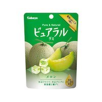 Melon Gummy (Kabaya Pureral Gummy Series (Melon, Pack of 8))