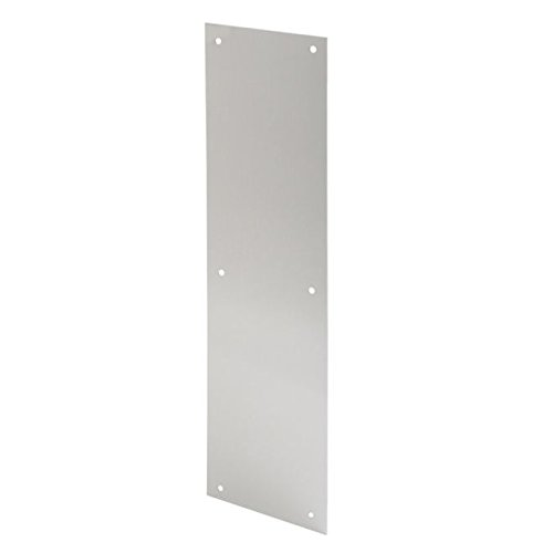 Ives Commercial 044074147780 Aluminum Push Plate by Ives Commercial