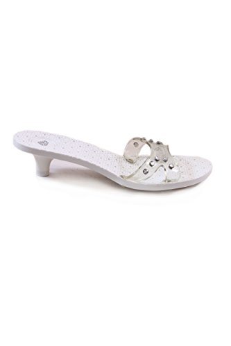 Fornarina - Sandalias de vestir para mujer blanco