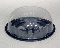 Containers Dome Lid (Plastic Cake Containers for 8