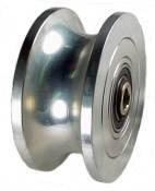 "Mapp Caster PMUG5050SB, 5"" x 2"" U-Groove Steel Wheel with..."