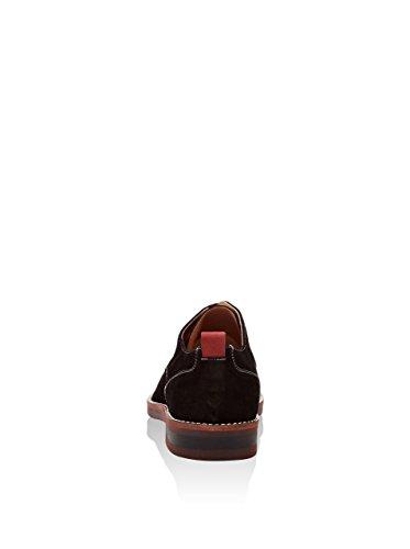 Heritage Sloan, Zapatos de Cordones Derby para Hombre Negro
