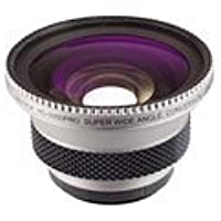 High Definition Wideangle Lens 0.5X(with 5-adapter ring: 27,30,30.5,34,37&43mm ) packed in display box, Silver model