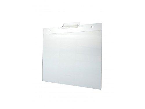 Marketing Holders Acrylic Horizontal Sign Holder 11'' x 8 1/2'' Slatwall by Marketing Holders