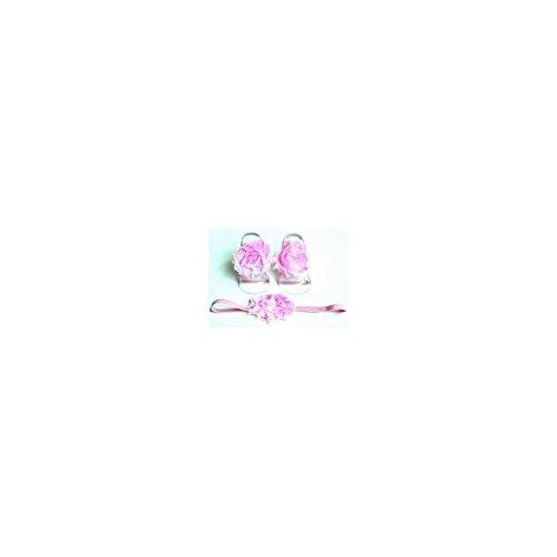 La panoplie Des Petits, Mädchen Babyschuhe - Krabbelschuhe & Puschen  Fushia Einheitsgröße Rose clair
