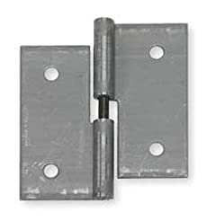 Lift-Off Hinge, Natural, 2 x 2 in.