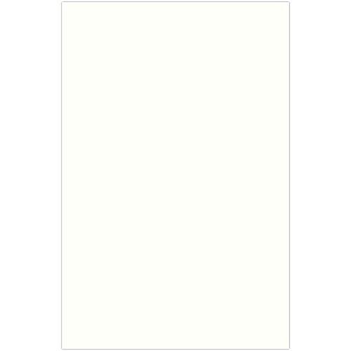 JAM PAPER Ledger 88lb Cardstock - 11 x 17 Tabloid Coverstock - Natural White Wove Strathmore - 25% cotton - 50 Sheets/Pack
