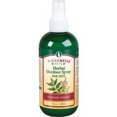 (Organix South Herbal Outdoor Spray for Pets, 8 Ounce )