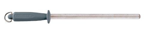 Fischer Bargoin 11-Inch Diamond Sharpening Steel, with Chrom