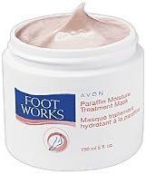 Avon Foot Works Paraffin Moisture Treatment Mask Footcare Wax