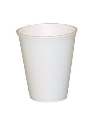 1000 Stück Trinkbecher Thermobecher Styroporbecher Becher 0,2 l Glühwein Tee 200 ml weiß