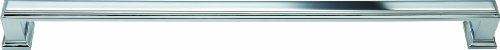 Atlas Homewares 337-CH Sutton Place Polished Chrome 12.3-Inch Large Pull ()
