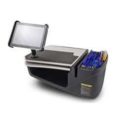 AutoExec AESGrip-03 GripMaster Desk with Built in 200W Inverter and Universal iPad/Tablet Mount by AutoExec