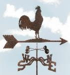 Rooster Roof Mount Weathervane