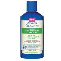 Avalon Organics Anti-Dandruff Shampoo Itch & Flake Therapy, 14 Oz, Itch &...