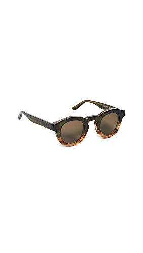 Thierry Lasry Women's Maskoffy 010 Sunglasses, Green/Brown, One Size (Thierry Lasry)