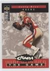 Jerry Rice (Football Card) 1994 Upper Deck Collector's Choice - Crash the Game - Gold Prize - Gold C21