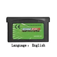 32 Bit Handheld Console Video Game Cartridge Card MegaMan Battle Network 5 Team Protoman English Language EU Version Grey shell