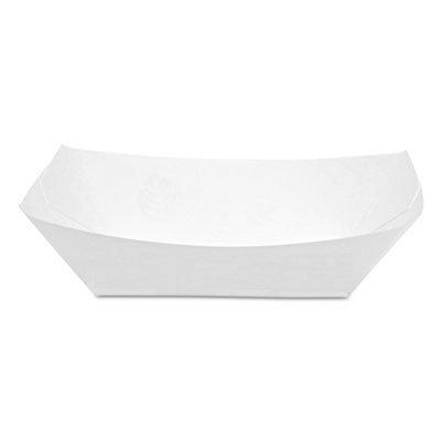 DXEKL100W8 - Dixie Kant Leek Polycoated Paper Food Tray (Dixie Leek Kant)