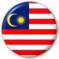 Button / Badge Drapeau Malaisie LetsCollect-it