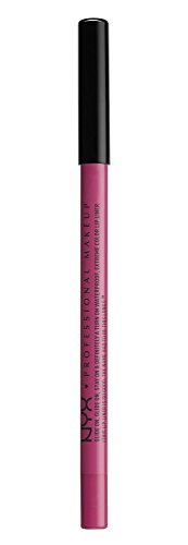 NYX PROFESSIONAL MAKEUP Slide On Lip Pencil - Fluorescent, Magenta With Blue Undertone