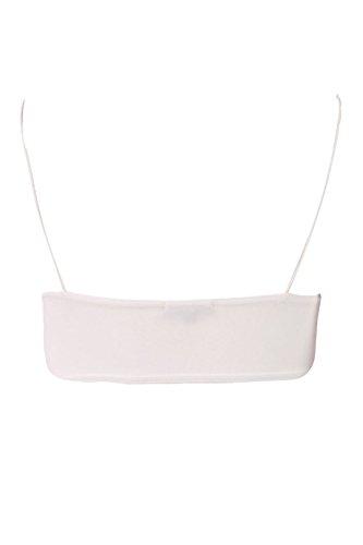 7 Fashion Road - Camiseta sin mangas - Básico - para mujer blanco
