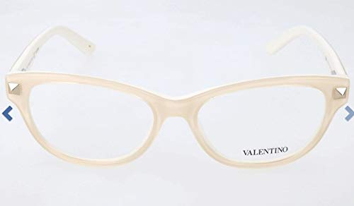 Valentino Optical Frames - VALENTINO Eyeglasses V2660 103 Ivory 52MM
