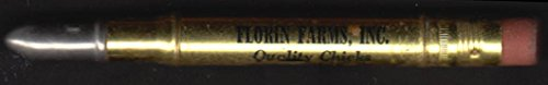 Florin Farms Chicks & Leghorns Mount Joy PA advertising pencil 1950s