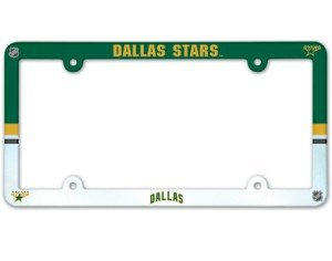 Wincraft NHL Dallas Stars Full Color License Plate Frame, Team Color, One ()