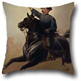 20 X 20 Inches / 50 By 50 Cm Oil Painting Thomas Buchanan Read - Philip Henry Sheridan Cushion Cases ,2 Sides Ornament And Gift To Kids Boys,dinning Room,couples,bf,chair,bench