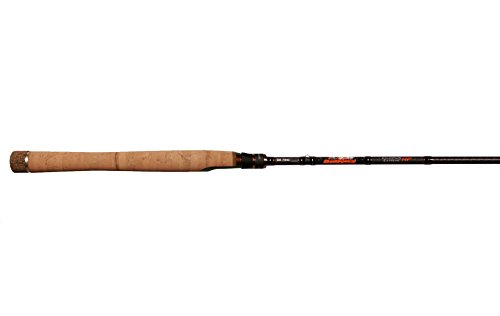 Dobyns Rods DX 743SF Champion Extreme Series Fast Spinning Rod, 7'4''/Medium, Black/Orange by Dobyns Rods