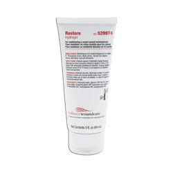Hollister Restore Hydrogel Dressing, 3 Oz Tube (50529974) Category: Specialty Dressings Woundcare - Restore Tube 3 Hydrogel Oz