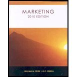 Marketing 2010 Edition, William M. Pride, 1424067383