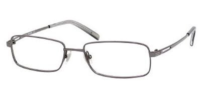 FOSSIL ALEXANDER Eyeglasses 0TZ2 Gunmetal Gray Demo Lens - Optical Gray Alexander