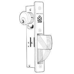 Adams Rite MS1850S310628 MS1850S-310-628 Deadbolt, Cylinder Less, HD, Satin Chrome