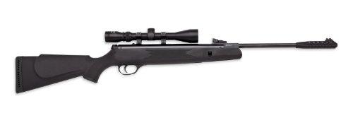 Webley Value Max .177 Caliber Air Rifle, with NMC3940 Scope, Black