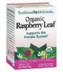 Traditional Medicinals Organic Herbal Teas, Raspberry Leaf, 16 Count