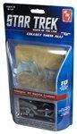#914-12 AMT Star Trek #10 Klingon D7 Battle Cruiser Snap Together Plastic Model Kit, Needs (Battlecruiser Snap)