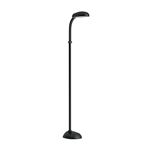 Lavish home 72 0890 5 feet sunlight floor lamp with for Lavish home sunlight floor lamp silver