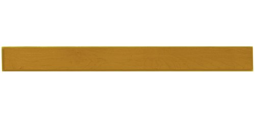 Shaker Panel Door Style Valance 48'' Wide 4.5'' Tall in a Maple Natural Finish Model VAL-48-NB
