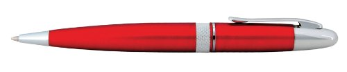 Ballpoint Pen - Allegheny Red Dual Action Automatic Knife